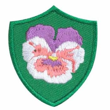 Pansy Troop Crest