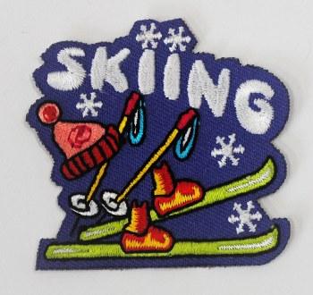 Skiing Fun Patch