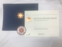 USAGSO Bronze Award Packet