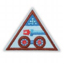 Brownie Designing Robots Badge