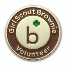 Brownie Volunteer Pin