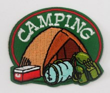 Camping Fun Patch