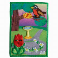 Daisy 5 Flowers, 4 Stories, 3 Cheers for Animals Journey Award Badge Set