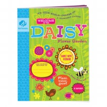 Daisy Flower Garden Journey Book