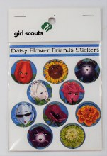 Daisy Journey Characters Stickers