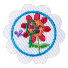 Daisy Think Like A Citizen Scientist Award Badge