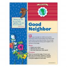 Daisy Good Neighbor Badge Requirements