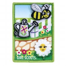 Daisy Welcome to the Flower Garden Journey Award Badge Set