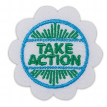 Daisy Take Action Award Badge