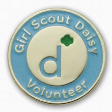 Daisy Volunteer Pin