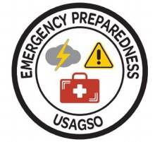 USAGSO Emergency Preparedness Fun Patch