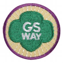 Junior Girl Scout Way Badge