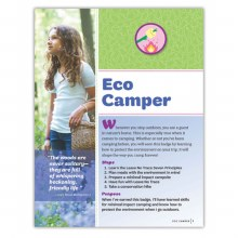 Junior Eco Camper Badge Requirements