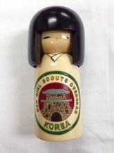 Korea Kokeshi Doll
