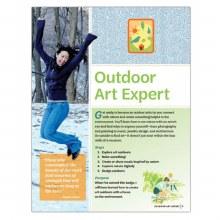 Senior Outdoor Art Expert Badge Requirements