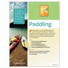 Senior Paddling Badge Requirements