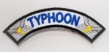 Typhoon Rocker for Emergency Preparedness Fun Patch