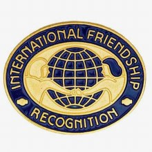 International Friendship Recognition Pin