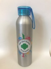 USAGSO Water Bottle with Blue lid