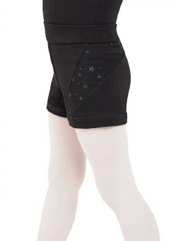 Capezio Shooting Star Short 11628C 2-4 BLK