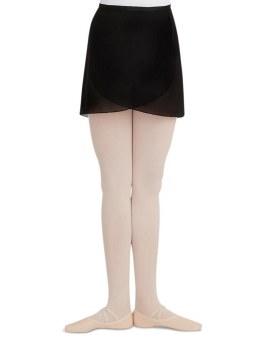 Capezio Wrap Skirt N272 P/S BLK