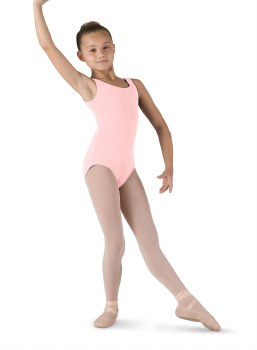Bloch Basic Tank Leotard CL5405 2-4 LPK