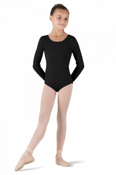Bloch Long Sleeve Leo CL5409 2-4 BLK