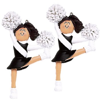 Dasha Cheerleader Ornamnent DASHA 6066BK O/S BRN
