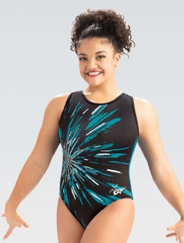 Gk Elite Laurie Hernandez Collection Cosmic Leotard E4044A XS 000