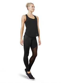 Bloch Mesh Panel Legging BL FP5146 XSM BLK
