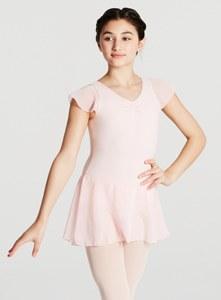 Capezio Flutter Sleeve Dress 113052-4 PNK