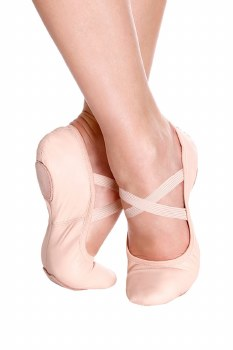So Danca Leather Splitsole Ballet SD60L PINK 3
