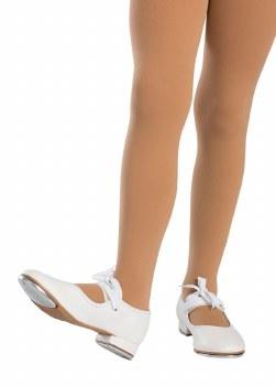 So Danca Child Beginner Tap Shoe  TA35 W WHT 10.5
