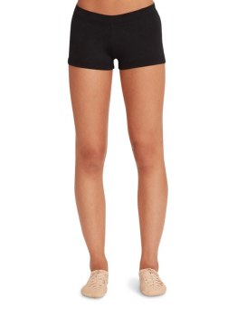 Capezio Boy Cut Low Rise Shorts TB113 X-SM BLK