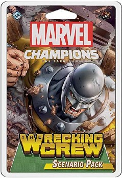 Marvel Champions (MC03en) The Wrecking Crew Scenario Pack