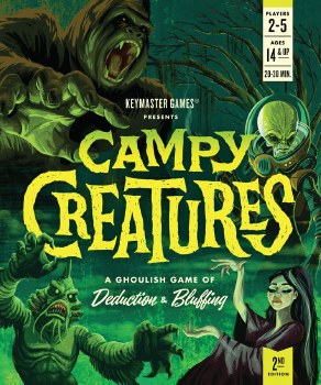 Campy Creatures 2nd Edition English