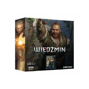 Heroes of the Witcher Series 2 Puzzle Zoltan (1500)