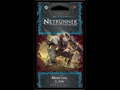 Martial Law Data Pack Android Netrunner LCG