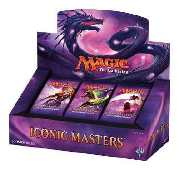 Magic Iconic Masters Display Englisch