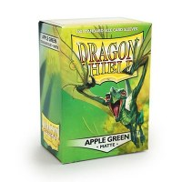 Dragon Shield Apple Green Matte Standard Sleeves (100)