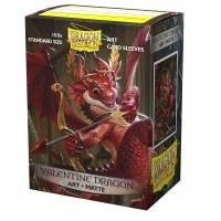 Dragon Shield Art Sleeves Valentine Dragon Standard Matte