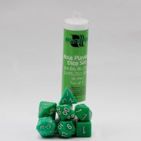 Blackfire RPG Dice Set of 7 Green