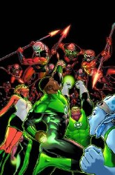 Green Lantern Corps the Lost Army TP