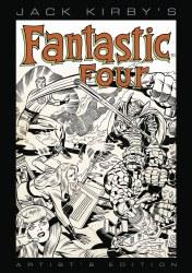 Jack Kirby Fantastic Four Artist Ed HC