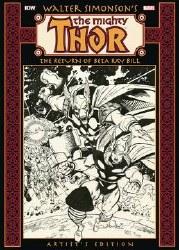 Walter Simonson Thor Return ofBeta Ray Bill Artist Ed HC