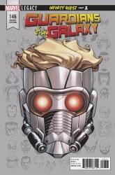 Guardians of Galaxy #146 Mckone Legacy Headshot Var Leg