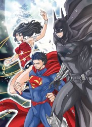 Batman & the Justice League Manga TP VOL 01