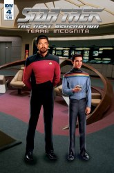 Star Trek Tng Terra Incognita #4 Cvr B Photo