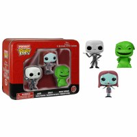 Funko Pocket POP! Nightmare Before Christmas Tin 3-Pack