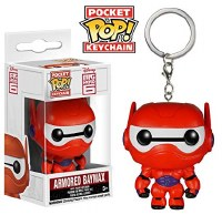 Funko POP! Keychain Big Hero Six Armored Baymax